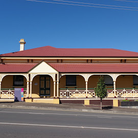 Old pub by Carolyn Lawson - Buildings & Architecture Office Buildings & Hotels