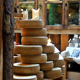 Tower of perfect cheese by Alka Smile - Food & Drink Meats & Cheeses