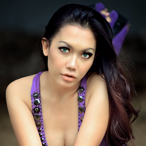 Mona by Ferdy Baharudin - People Portraits of Women