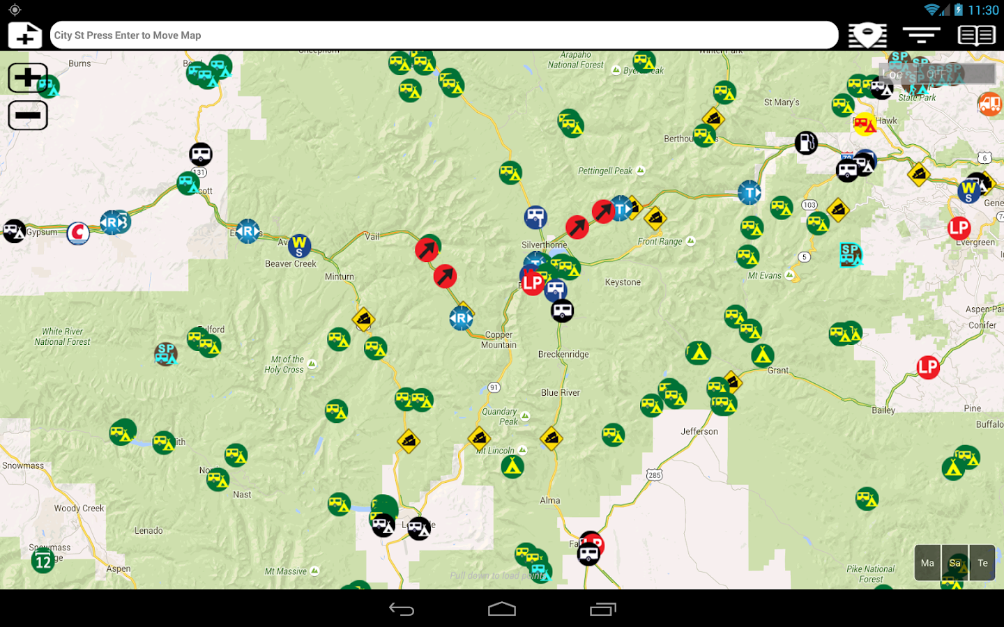 Camp and RV - Campgrounds Plus Screenshot 7