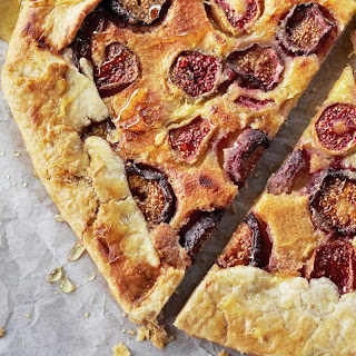 Fresh Fig Crostata with Ricotta and Honey