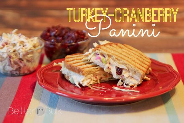 Turkey-Cranberry Panini {Thanksgiving Leftovers Recipe} Recipe ...