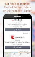 Screenshot of Coupons, Codes, Deals & Saving