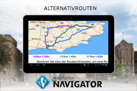 MapFactor: GPS Navigation Screenshot