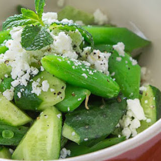 Cucumber Snap Pea Salad