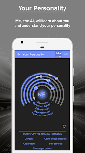 Mei: Messenger for SMS with AI