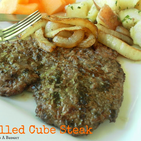 Grilled Cube Steak
