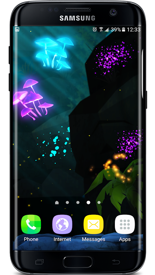 Firefly Jungle II LWP Screenshot 2