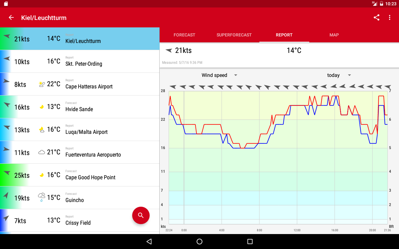 Windfinder Pro Screenshot 7