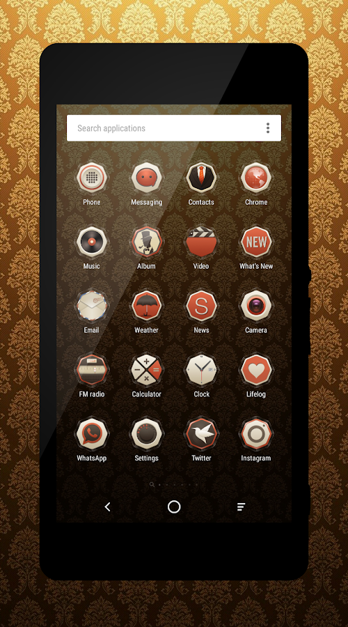 Style Retro Icons Pack Screenshot 2