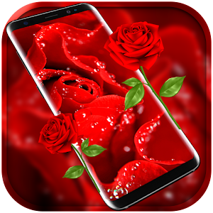 Red Rose Free live wallpaper for PC-Windows 7,8,10 and Mac