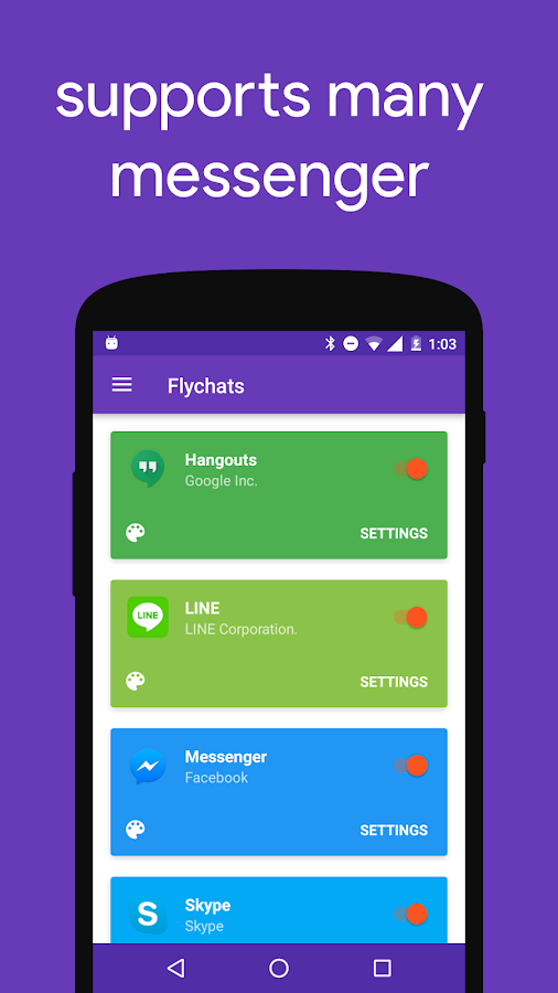 Flychat Screenshot 3