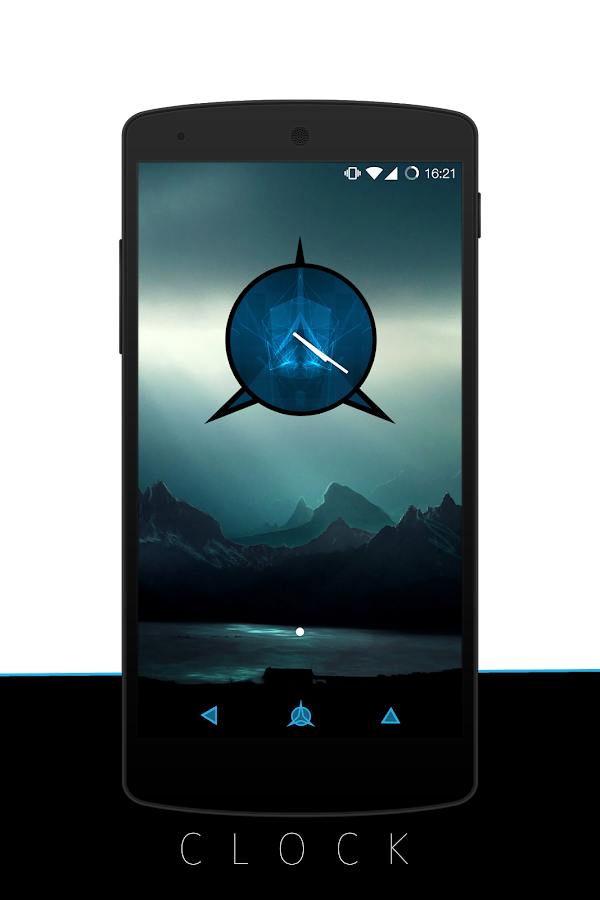 Futuristic - CM13/CM12.1 Theme Screenshot 2