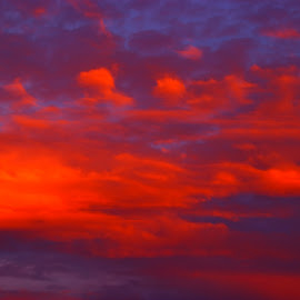 by Peter Hayes - Landscapes Cloud Formations