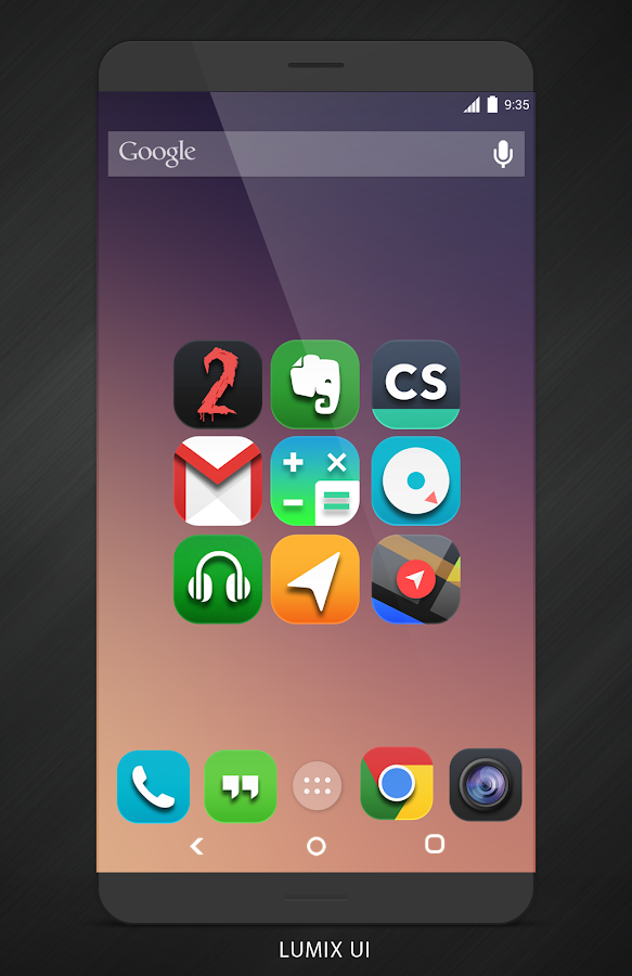 Lumix UI - Icon Pack Screenshot 1