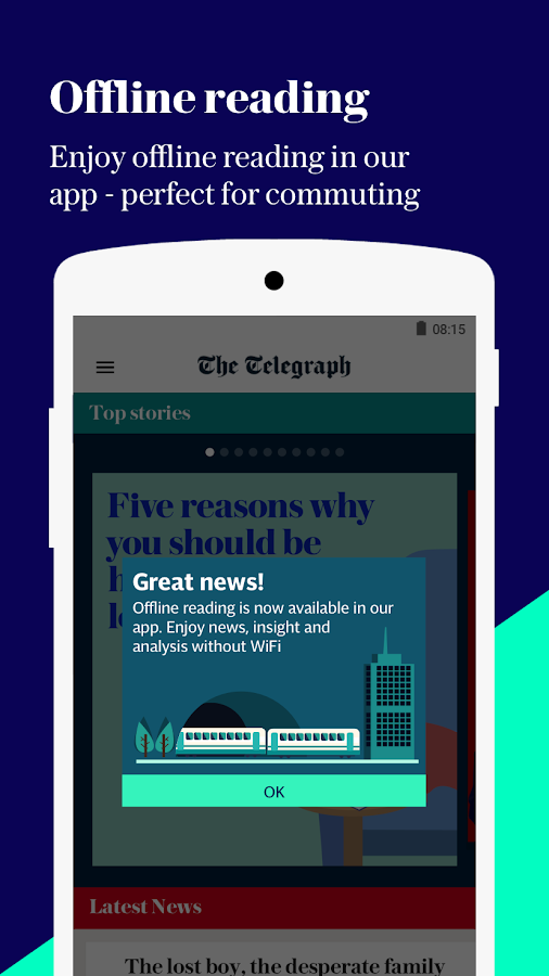 The Telegraph - Live News, Sport & Business Screenshot 4