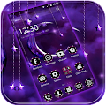 Moon Night Theme Purple moon APK for Bluestacks