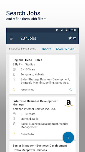 Naukri.com Job Search screenshot 1