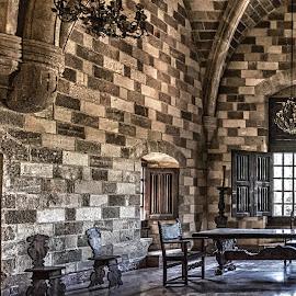 Palacio del Gran Maestre.Rodas.Greece by Jose Maria Vidal Sanz - Buildings & Architecture Other Interior ( indoor, greece, rodas, castle, palace )