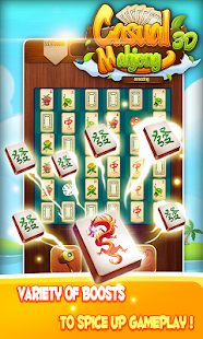 Mahjong Link 3D Casual Game - screenshot