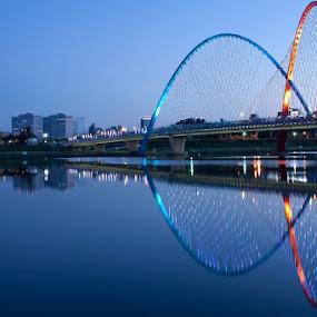 at 7 am by Sigit Jauhari - Buildings & Architecture Bridges & Suspended Structures