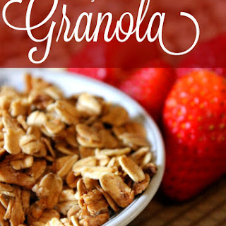 Easy and Healthy 5-Ingredient Granola
