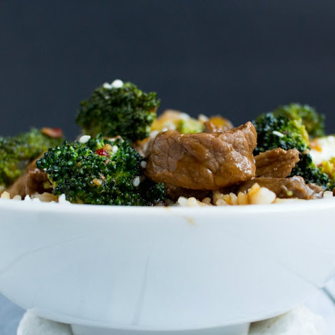 30 Minute Beef and Broccoli Bowls