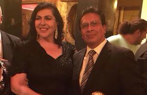 Mónica Quintanilla galardonó a la Fundación Esto Es México.