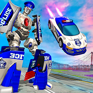 US Police Robot Car Revenge For PC / Windows 7/8/10 / Mac – Free Download