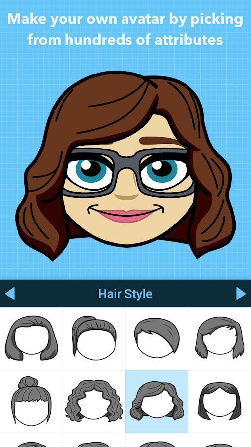 Bitmoji - Dein persönliches Emoji android apps download