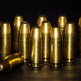 Bullet Bowling by Dale Pausinga - Digital Art Things ( dozen, lead, brass, bullet, bullets,  )