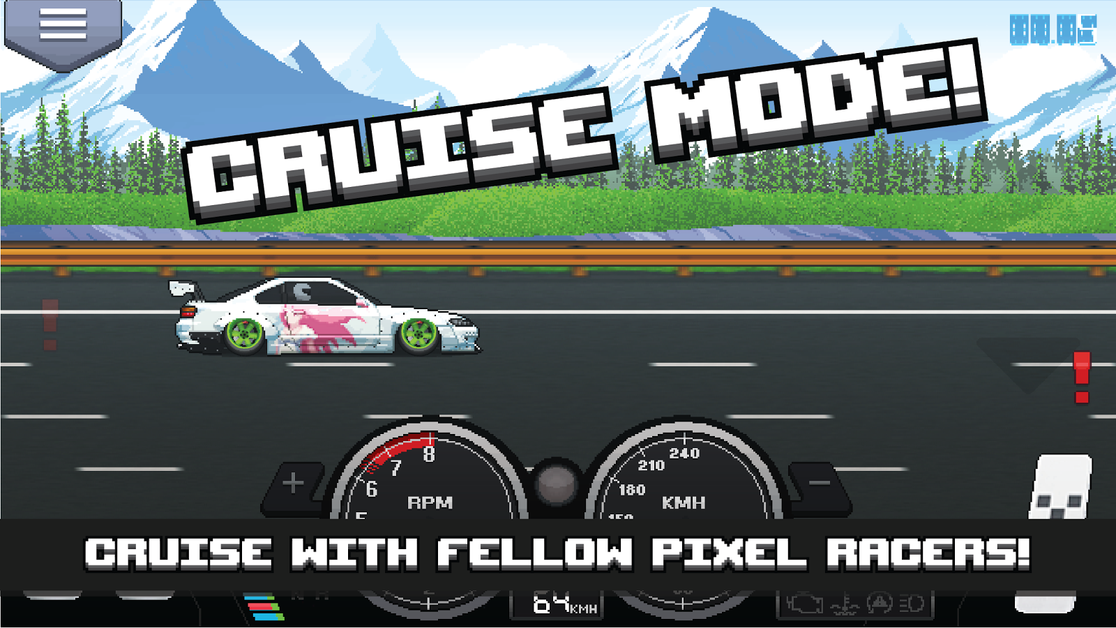 Pixel Car Racer Screenshot 3