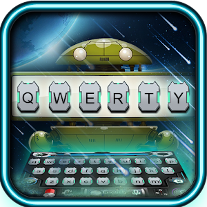 Download Universe Emoji Technology Keyboard Theme For PC Windows and Mac
