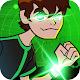 Ben Heartblast Alien Shooter - Run and Fight