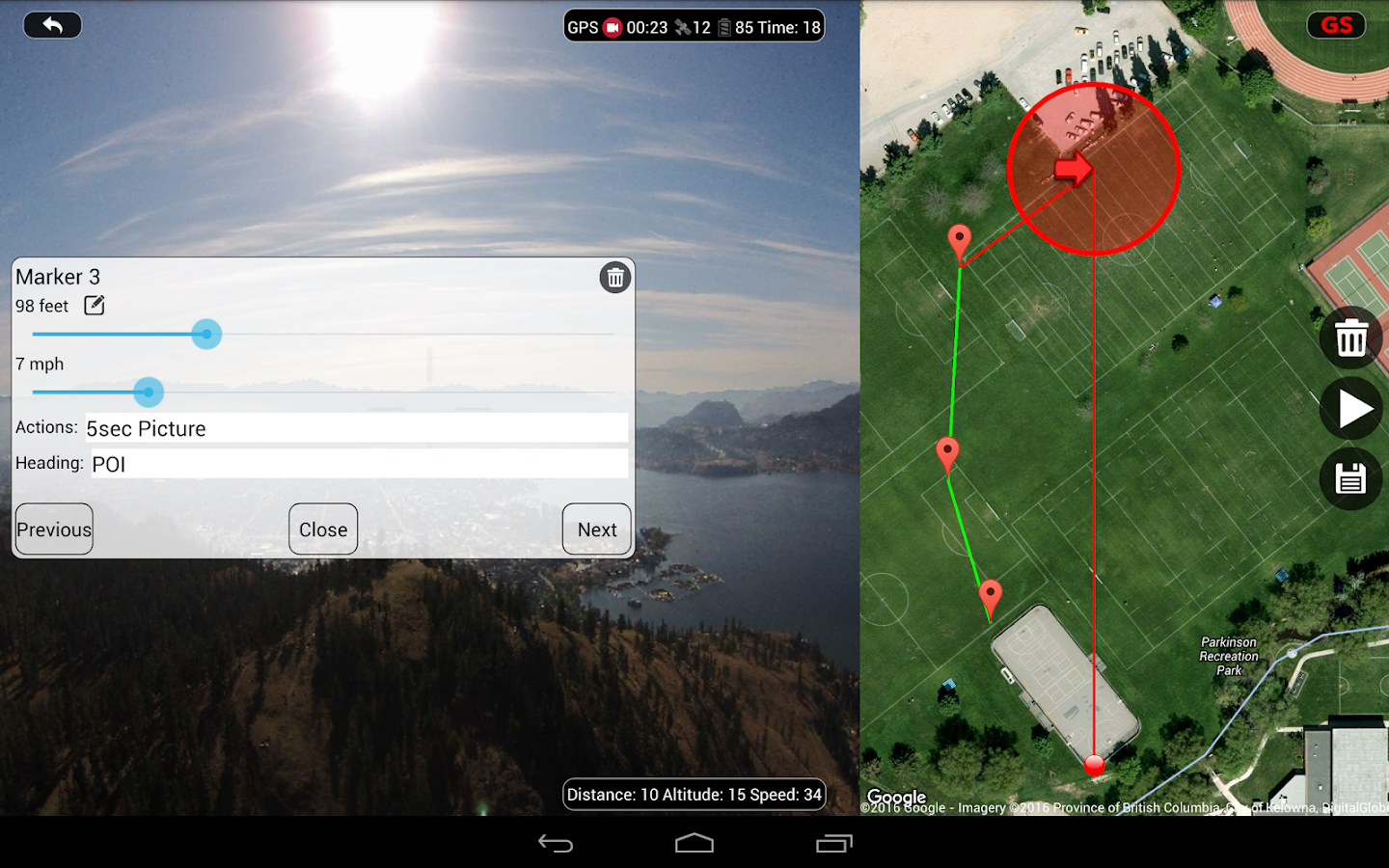 DJI Phantom Flight (v3) Screenshot 12