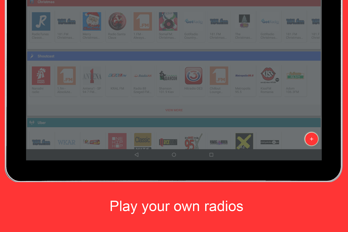 Internet Radio Player Screenshot 11