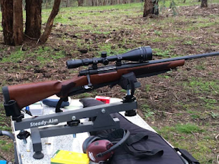 hunting rifle melbourne