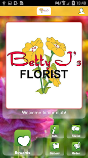Betty J's Florist - screenshot