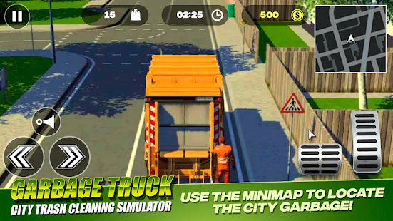 Garbage Truck - City Trash Cleaning Simulator