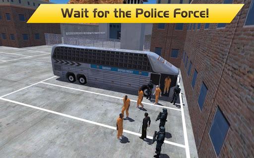 Hill Climb Prison Police Bus - screenshot