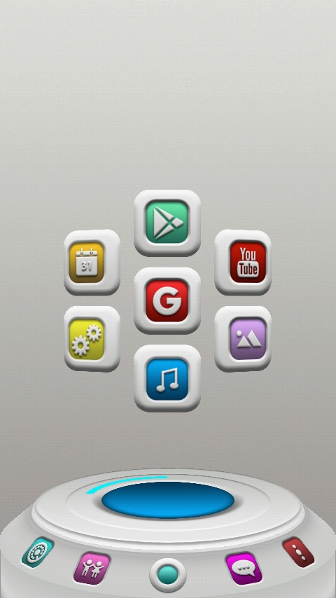 FROOP Next Launcher 3D Theme Screenshot 2
