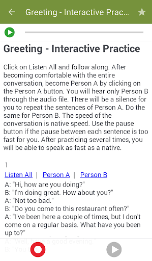 Learn to Speak English screenshot 4