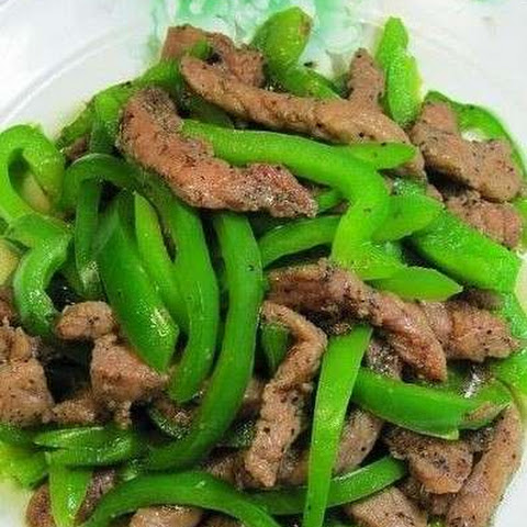 How To Make Chinese Pepper Steak