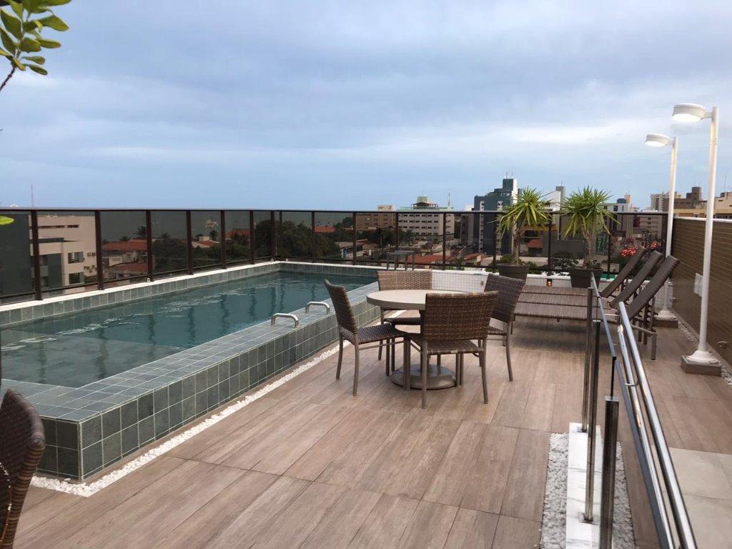 Flat com 1 dormitório à venda, 22 m² por R$ 170.000 - Manaíra - João Pessoa/PB