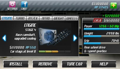 Drag Racing screenshot 11