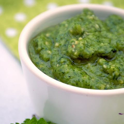 Cilantro & Mint Vegan Pesto