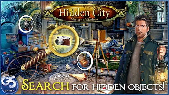 Game Hidden City®: Mystery of Shadows apk for kindle fire