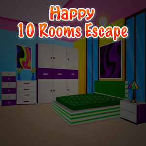 Happy 10 Rooms Escape