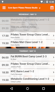 Core Sport Pilates - screenshot