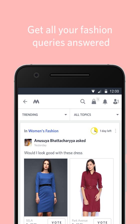 Myntra Online Shopping App Screenshot 3